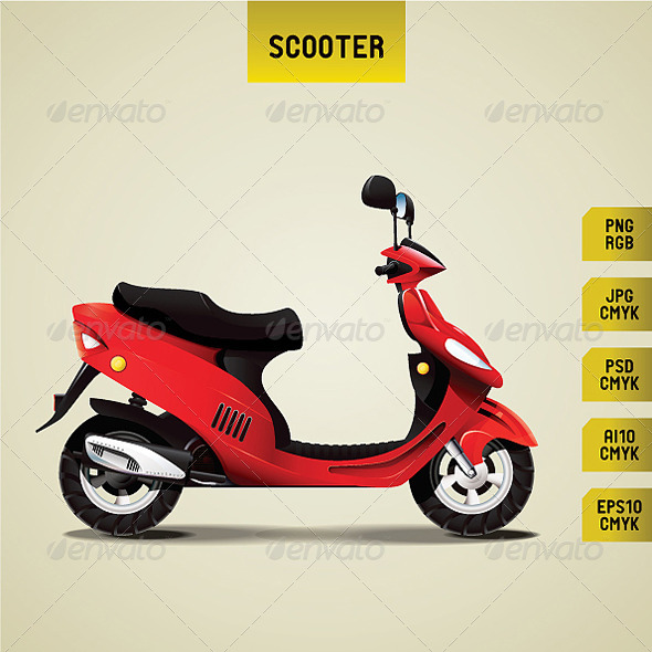 GraphicRiver Scooter 4698967
