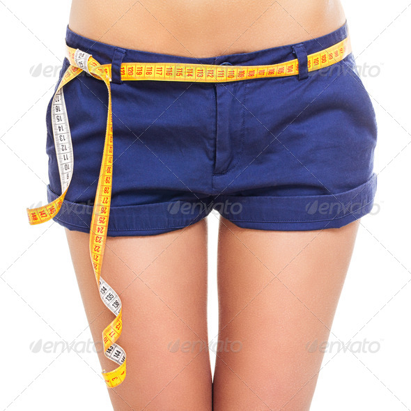 Perfect body measurements - Stock Photo - Images