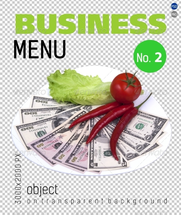 GraphicRiver Business Menu No.2 on Transparent Backgrounds 4701321