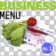 Business Menu No.3 on Transparent Backgrounds - GraphicRiver Item for Sale