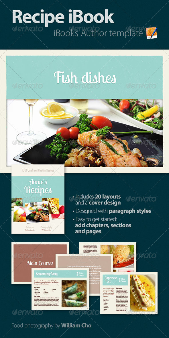 GraphicRiver Recipe iBook 4701752