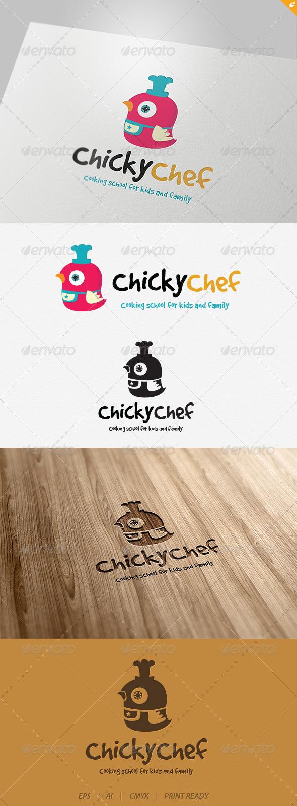 GraphicRiver Chicky Chef Logo 4701776