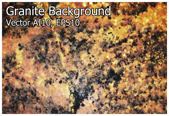 Granite Background (Vector) - Backgrounds Decorative