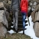 Two Lovers Climbing Stairs - VideoHive Item for Sale