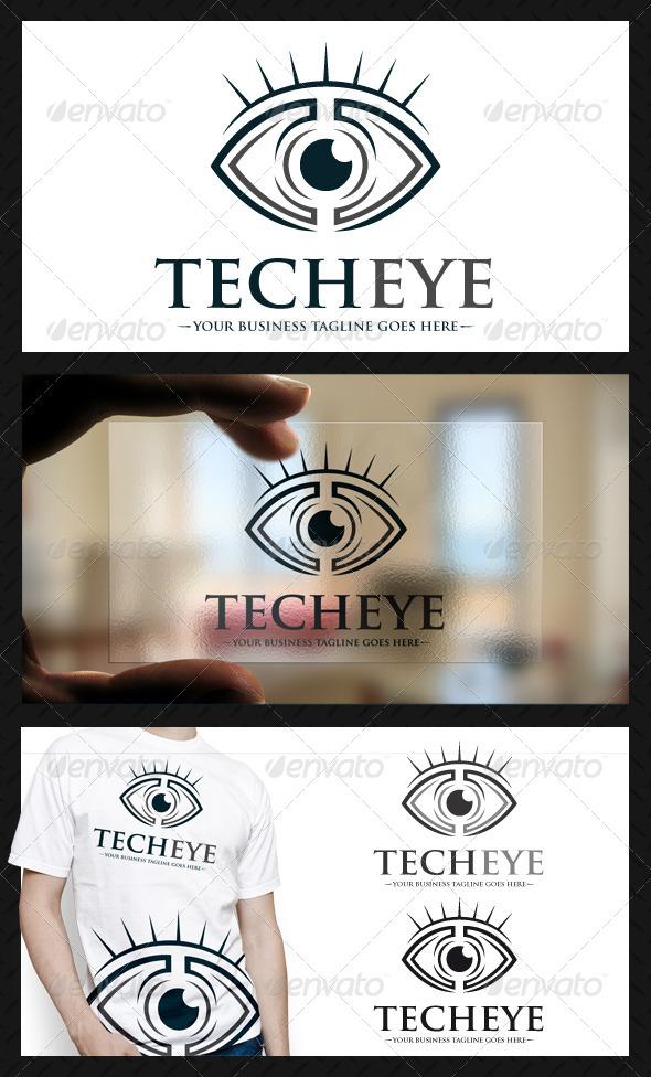 GraphicRiver Tech Eye Logo 4702464