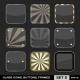 Download Vector Transparent App Icon Frames, Backgrounds. Set 5