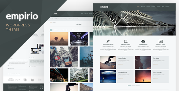 ThemeForest empirio Responsive WordPress Theme 4702946
