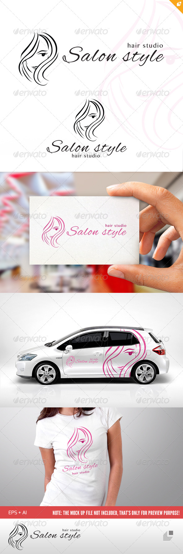 GraphicRiver Salon Style Logo 4703065