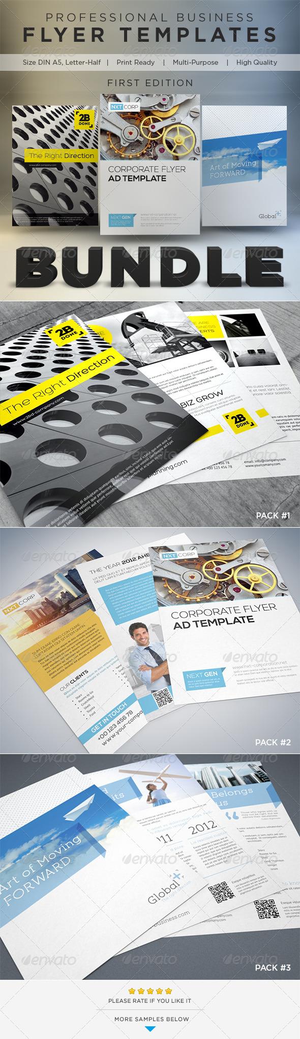 Business Flyer Template Bundle - Corporate Flyers