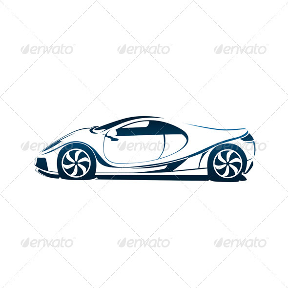 GraphicRiver Speedy Racing Sport Car 4703504