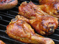 BBQ Chicken Legs on Grill - PhotoDune Item for Sale