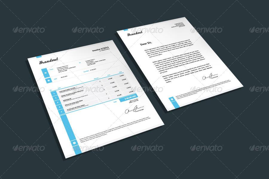Invoice & Letter Templates III