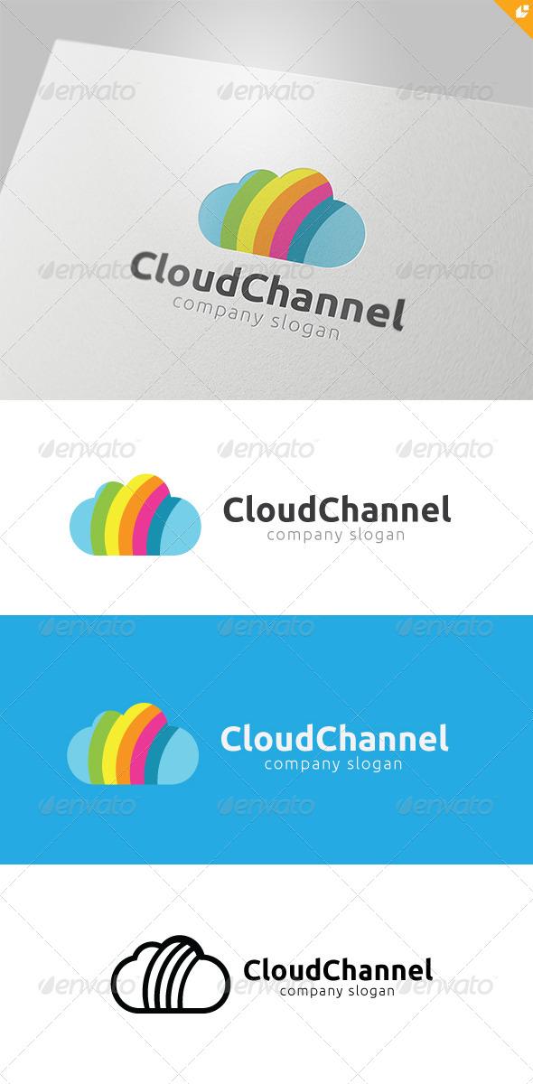 GraphicRiver Cloud Channel Logo 4703911