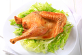 Roasted chicken with lettuce - PhotoDune Item for Sale
