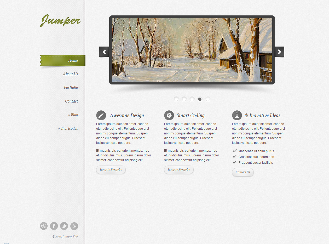 Jumper - Responsive WordPress Theme