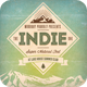 Indie Vintage Flyer/Poster - GraphicRiver Item for Sale