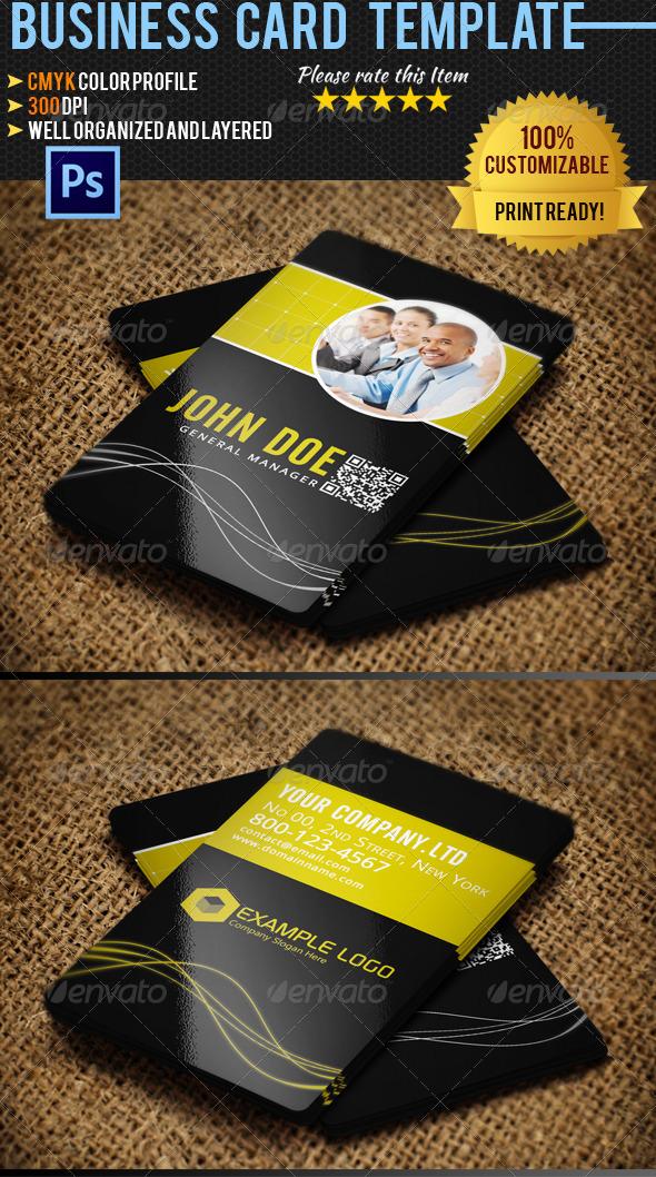 Corporate Business Card 026 - Corporate Business Cards