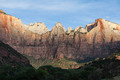 Zion Cliff Utah in Early Morning Light - PhotoDune Item for Sale