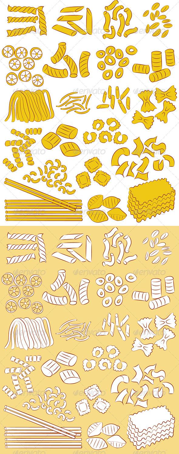 GraphicRiver Pasta Vector 4706691
