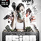 Asian Night Flyer PSD Template - GraphicRiver Item for Sale
