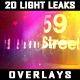 20 Light Leaks Overlays - VideoHive Item for Sale