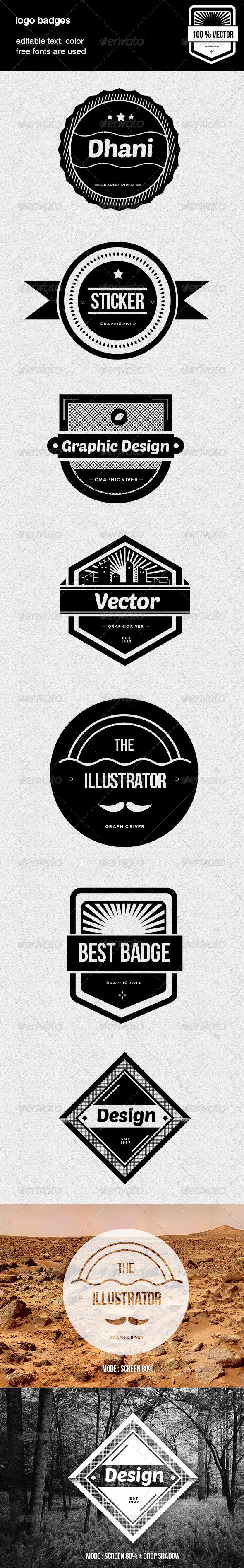 GraphicRiver Vintage Web Badges 4707167