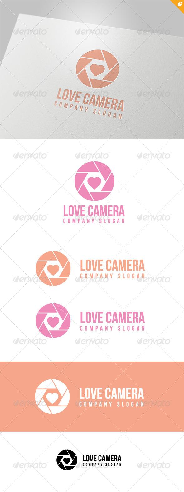 GraphicRiver Love Camera Logo 4707483