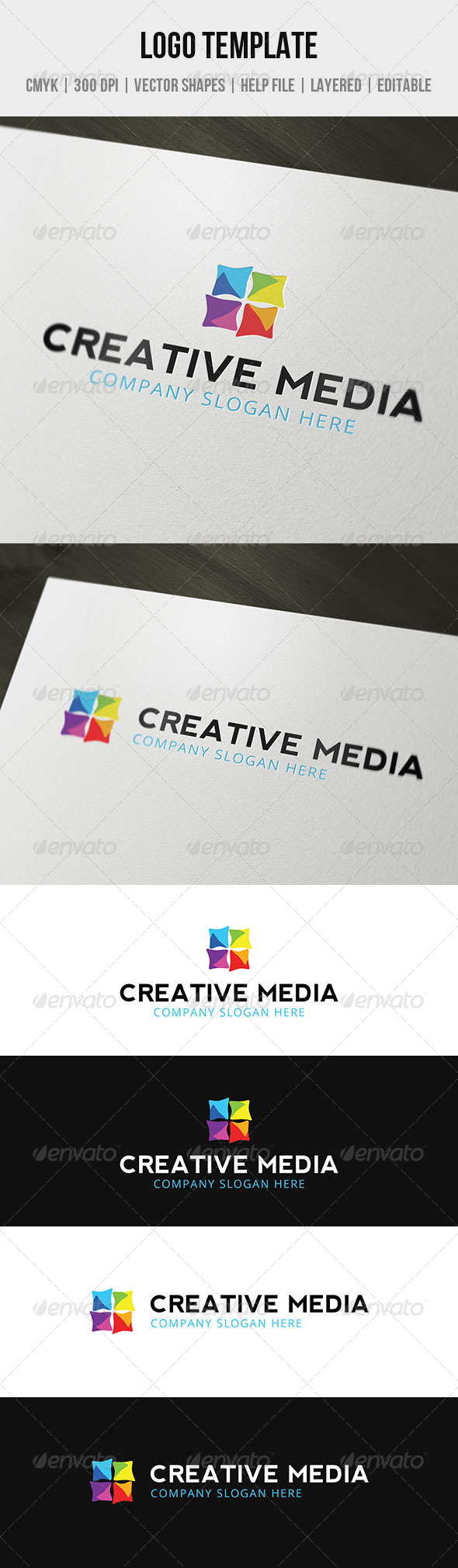 GraphicRiver Creative Media Logo Template 4707494