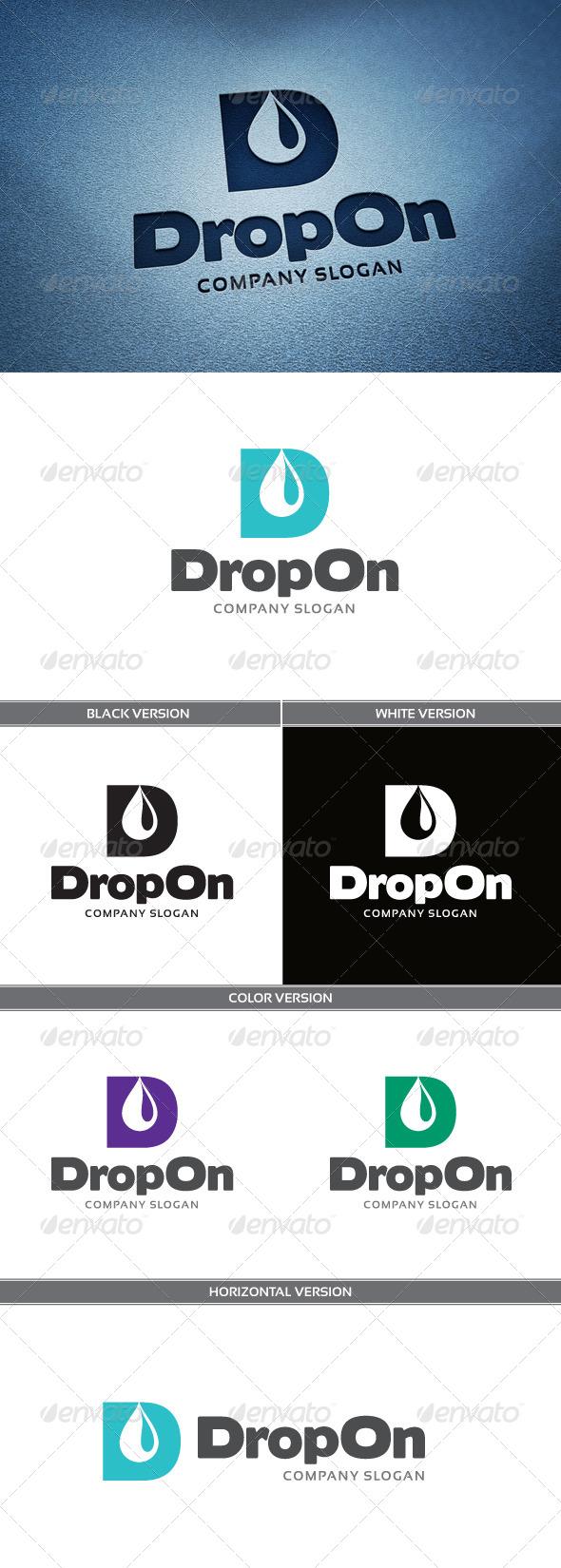 GraphicRiver DropOn Logo 4707510