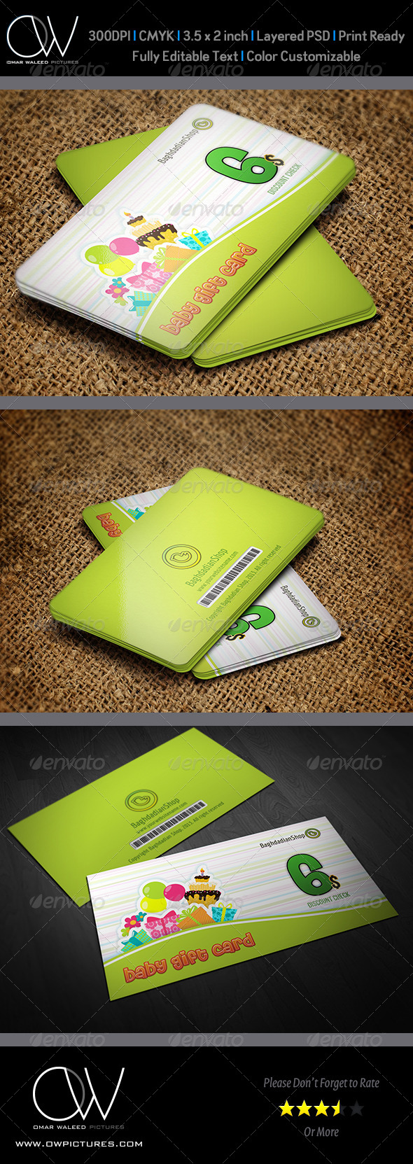 GraphicRiver Gift Voucher Card Vol 5 4707558
