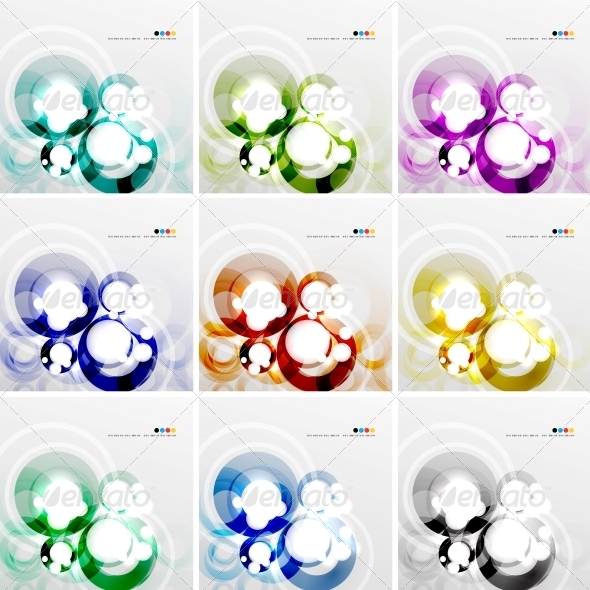 GraphicRiver Colorful Circle Design Templates 4707696