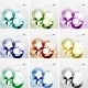 Colorful Circle Design Templates - GraphicRiver Item for Sale