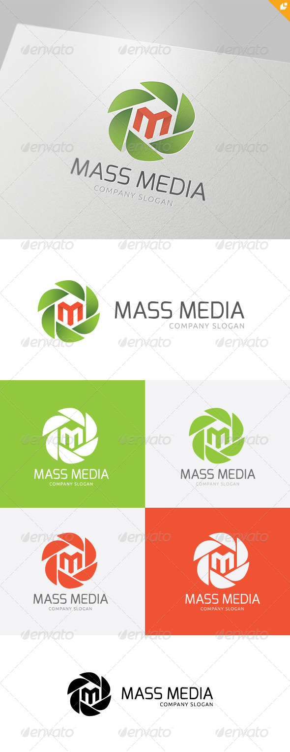 GraphicRiver Mass Media Logo 4707707
