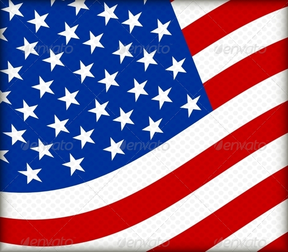 GraphicRiver Flag of the USA 4706589