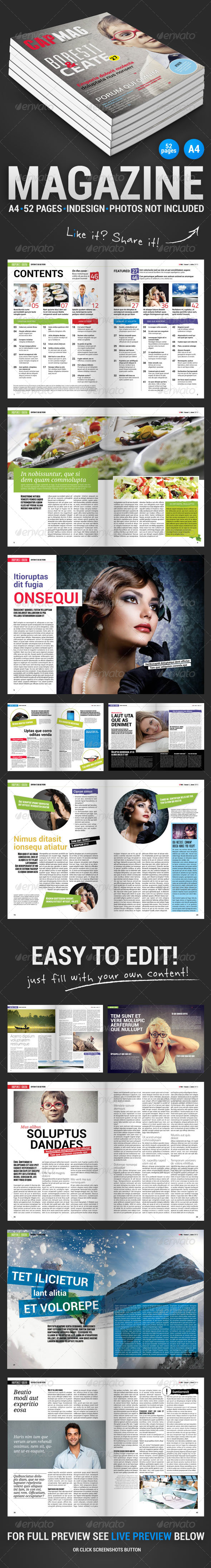 GraphicRiver CapMag 52 Pages Magazine 4708296
