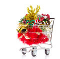 Christmas Shopping Cart - PhotoDune Item for Sale