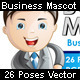 Business mascot - Bob in 26 poses - GraphicRiver Item for Sale
