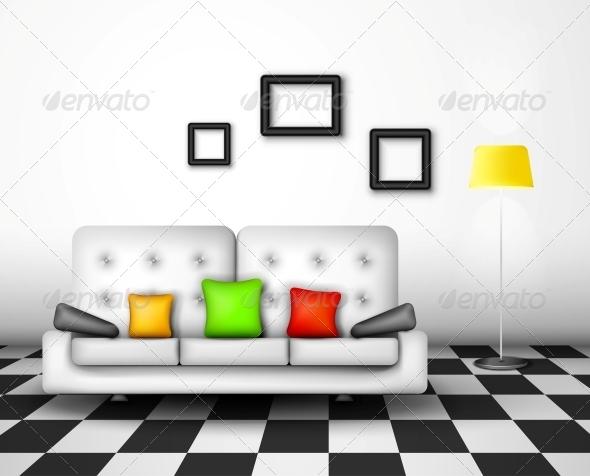 GraphicRiver Vector Interior Design 4709667