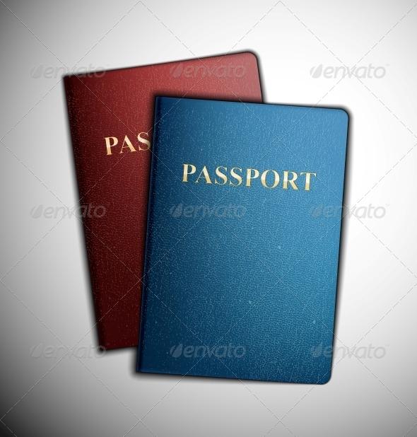 GraphicRiver Two Passports 4709683