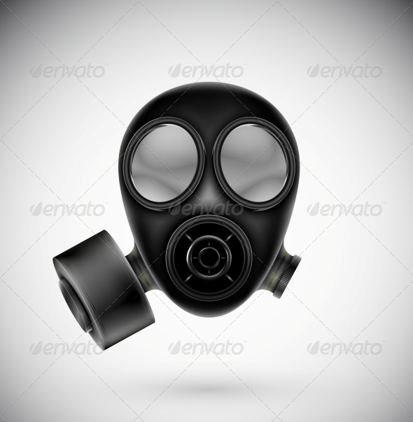 GraphicRiver Isolated Gas Mask 4709692