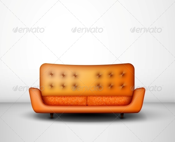 GraphicRiver Orange Sofa 4709695
