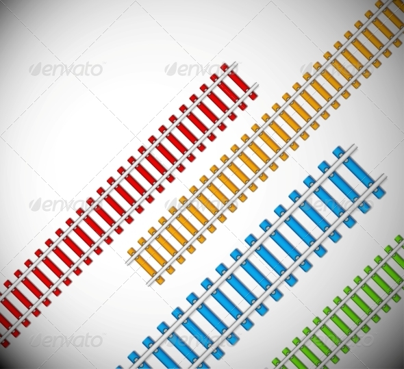 GraphicRiver Background with Rails 4709704