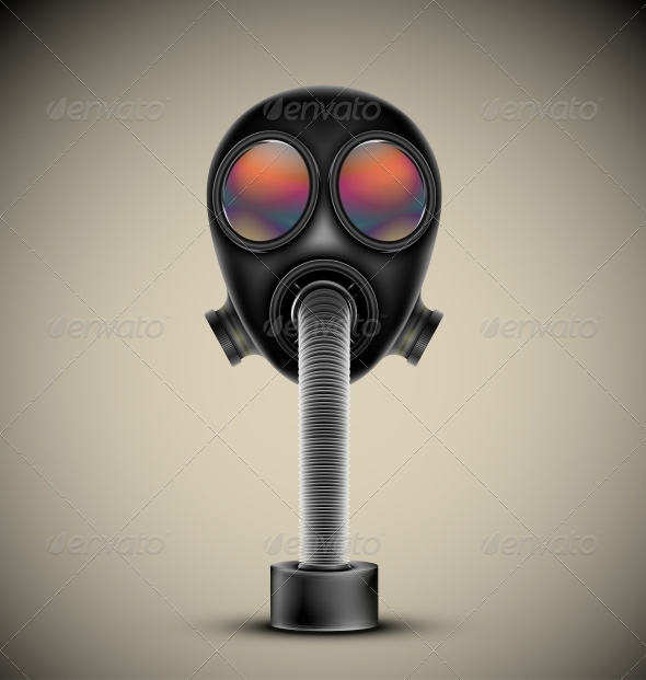 GraphicRiver Gas Mask 4709749