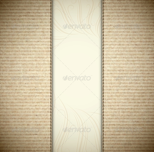 GraphicRiver Background with Cardboard 4709750