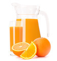 Orange fruit juice in glass jug - PhotoDune Item for Sale