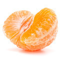 Peeled tangerine or mandarin fruit half - PhotoDune Item for Sale