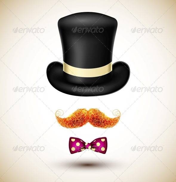 GraphicRiver Accessories Magician 4709759