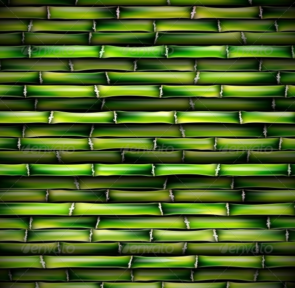 GraphicRiver Background of Bamboo 4709766