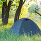 Tent on grassland - PhotoDune Item for Sale