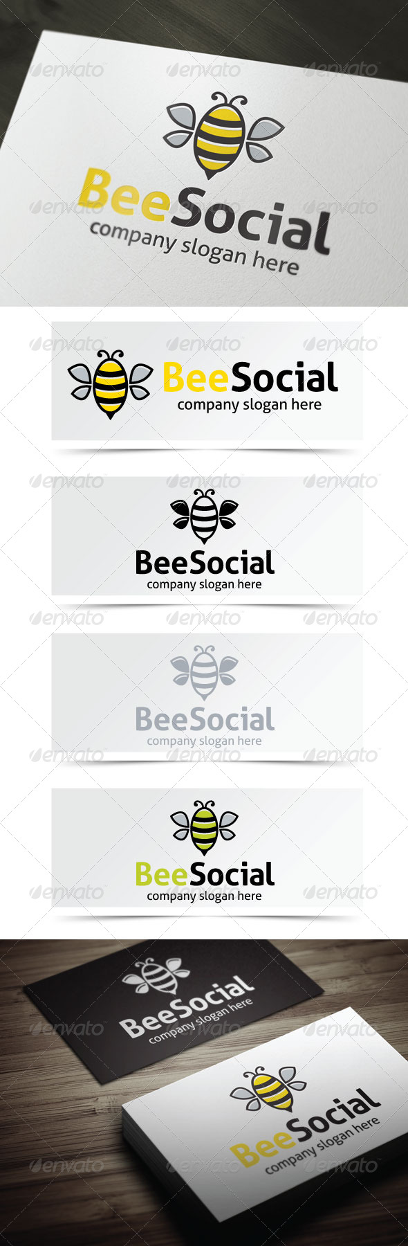 GraphicRiver Bee Social 4711070
